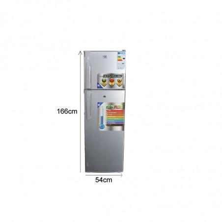 Réfrigérateur Oscar – R275S - 275L - Gris
