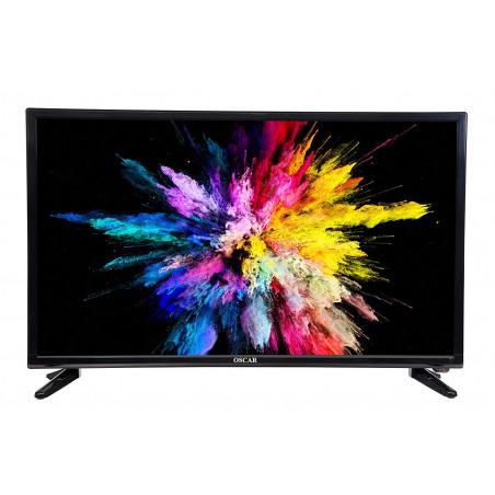 Oscar HDTV LED 32 pouces numérique Régulateur de tension + satellite intégrés