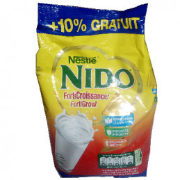 Nido Forti croissan ce +10%...