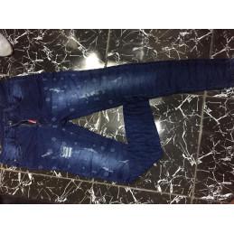 Pantalon jeans bleu