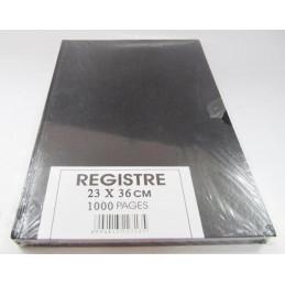 Registre 1000 pages 23x36