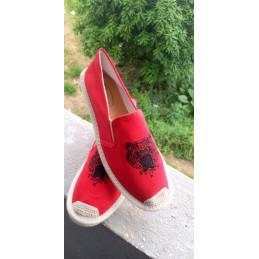 Espadrille Versace rouge