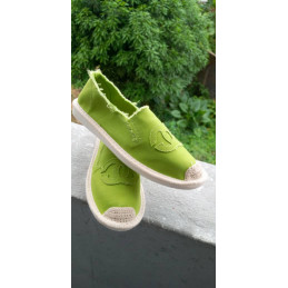 Espadrille Coco Chanel vert