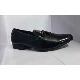 Pur cuir noir Fashion