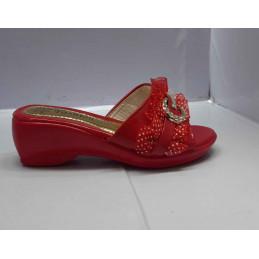 Babouche fashion rouge