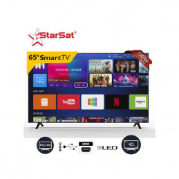 4K StarSat Smart Tv LED  -...