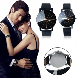 Montre Couple Quartz Cadran...