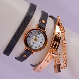 Montre-bracelet A Quartz En...