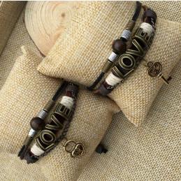 Bracelets Serrure et...