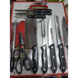 Ensemble couteau de cuisine