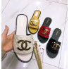 Babouche Coco Chanel multicolore