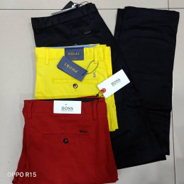 Pantalon Boss multicolore
