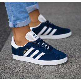 Tennis adidas gazelle bleu