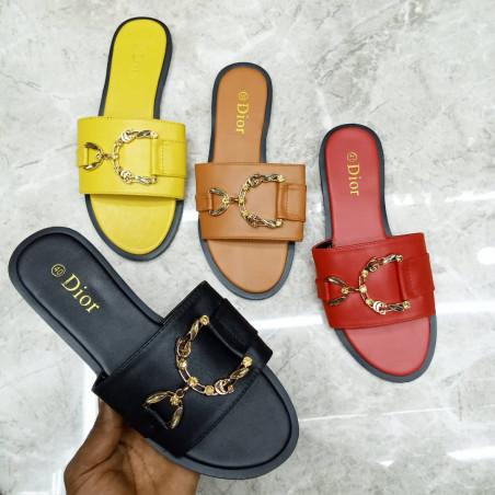 Babouche Christian Dior multicolore