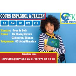 Cours de langues(ESPAGNOL)...