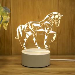 Lampe 3D Illusion Veilleuse...