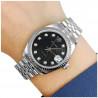 Montre Rolex couleur Argent intérieur Noir