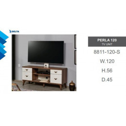 Perla 120 TV Unit 8811-120-S