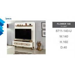 Flower TV Wall Unit 8711-140-U