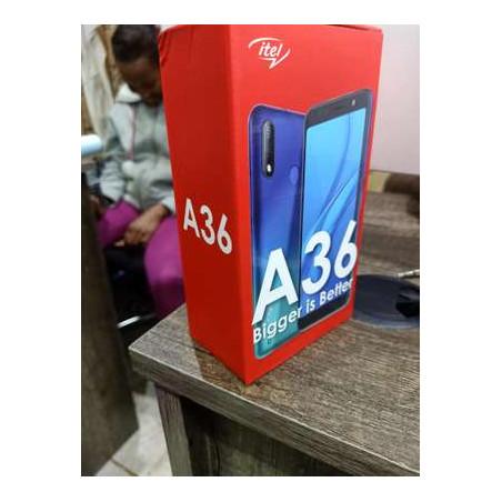 "Smartphone Itel A36 - 16Go/1Go RAM – 5MP - 3020mAh - 5,5"" - Dual Sim - Bleu"