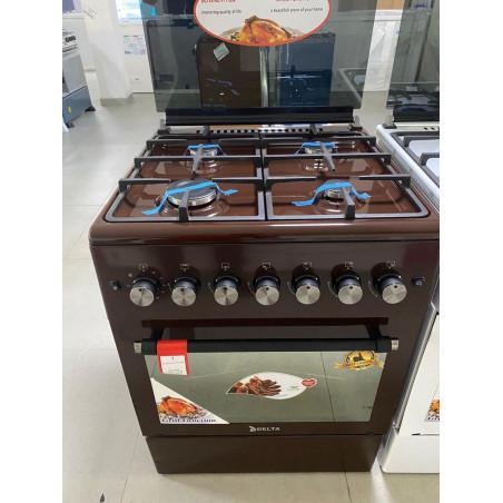 Cuisiniere automatique Delta Trendy 60x60 couleur Marron- Garantie 12 mois