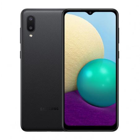 "Samsung Galaxy A02 - Dual Sim - 6.5"" - 13 Mpx - 32/2 RAM - NOIR 12 mois"