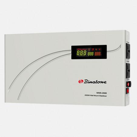 BINATONE - WMS-2000 - Regulateur de Tension (Montage Mural) - Blanc - 24 MOIS