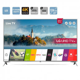 Smart TV - LG 49UJ651V - 49...
