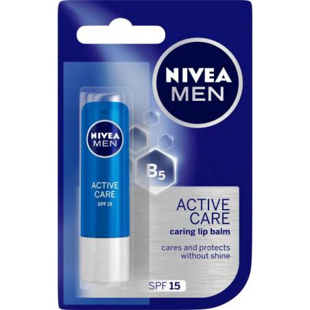 Baume soin Lèvre pour homme  Active Care 4.8g