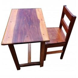 Table pour étudiant 1 chaise