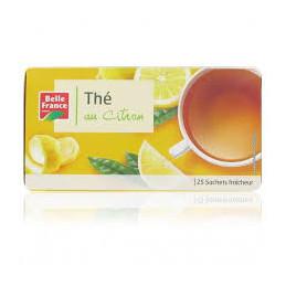 Thé au citron Belle France...