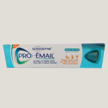 Sensodyne pro émail CDw multi-action menthe nettoyante