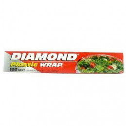 Diamond plastique Wrap 100m...