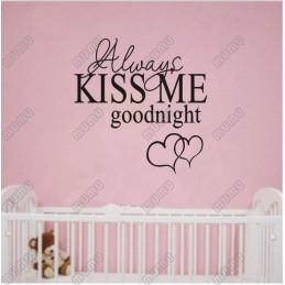 Décoration de mur Kiss Me